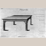 """Fig. 3: Plate XXXV in Thomas Chippendale's """"The Gentleman and Cabinet Maker's Directory"""" (1754)."""