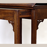Fig. 21: Detail of reading table illustrated in Fig. 20. © Thomas Jefferson Foundation at Monticello.