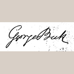 Fig. 2: George Beck's signature from his declaration of intent to become a United States citizen, 18 June 1802. Naturalization Petitions for the Eastern District of Pennsylvania, 1795-1930, M1522, Roll 042, Declarations May 4, 1795–Dec 23, 1814. National Archives and Records Administration, Washington, DC.