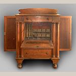 Fig. 23: Table-top secretary bookcase in Fig. 22 (open).