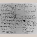 Fig. 30: Survey submitted 28 October 1831 for John C. Burgner's 640 acres of land in Burke Co., NC.