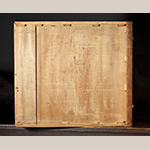 Fig. 33: Drawer bottom from the sideboard illustrated as Fig. 16.