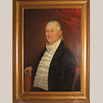 "Fig. 4: ""Dudley Mitchum"" attributed to Thomas Jefferson Wright, ca. 1820, Central Kentucky. Oil on canvas; HOA: 36"", WOA: 30"". Location unknown; recorded by the Tennessee Portrait Project, the National Society of The Colonial Dames in the State of Tennessee. Online: http://tnportraits.org/mitchum-dudley.htm (accessed 22 December 2014)."