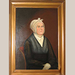 "Fig. 3: ""Mrs. Dudley (Susannah) Mitchum"" attributed to Thomas Jefferson Wright, ca. 1820, Central Kentucky. Oil on canvas; HOA: 36"", WOA: 30"". Location unknown; recorded by the Tennessee Portrait Project, the National Society of The Colonial Dames in the State of Tennessee. Online: http://tnportraits.org/mitchum-mrs-dudley-susannah.htm (accessed 22 December 2014)."