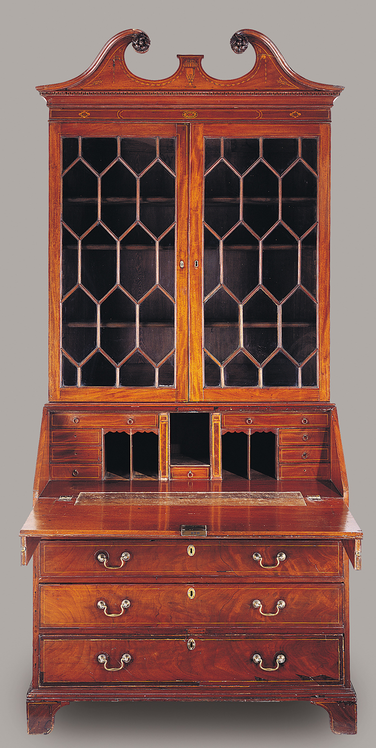 Fig 7 Desk And Bookcase Attributed To The Martin Pfeninger 1770
