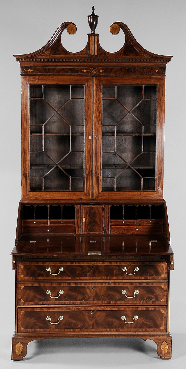 Fig 16 Desk And Bookcase Attributed To The Jacob S 1790