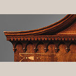 Fig. 41: Detail of cornice on the Sass Shop linen press illustrated in Fig. 17.