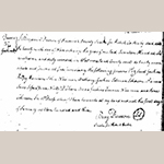 Fig. 2: Emancipation document for Jesse Spencer, 1 January 1803, Frederick Co., VA, Frederick County (Va.) Free Negro and Slave Records, 1795–1871, microfilm, Library of Virginia, Richmond, VA.