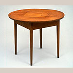 Fig. 11: Table made for Poplar Forest by John Hemmings, 1811, Monticello, Charlottesville, VA. Collection of Monticello and the Thomas Jefferson Foundation.