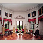 Fig. 15: Monticello's Parlor with parquet floor. Courtesy of Monticello and the Thomas Jefferson Foundation.