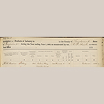 Fig. 12: William Gardner's pottery operation in the 1860 U.S. Census, Manufactures and Products of Industry Schedules; Loudoun Co., VA. Courtesy of the Library of Virginia, Richmond, VA.