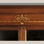 Fig. 8: Detail of inlay on the corner cupboard illustrated in Fig. 6.