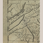 Fig. 18: Detail of the map in Fig. 17 showing Rutherford Co., NC and the Nolichucky River.