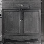 Fig. 33: Detail of the corner cupboard illustrated in Fig. 32.