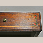 Fig. 53: Detail of a drawer front from the desk illustrated in Fig. 51. Photograph by the author.