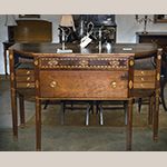"Fig. 59: Sideboard attributed to the shop of Hugh McAdams, 1800–1810, Washington Co., TN. Cherry with unidentified secondary woods; HOA: 43"", WOA: 65"", DOA: 30"". Private collection; MESDA Object Database file NN-2092; Photographs courtesy of Winterthur Decorative Arts Photographic Collection (DAPC), file 81.1482, Winterthur Museum, Garden & Library, Winterthur, DE."