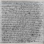 "Fig. 4: Detail of Benjamin Waring's 1763 submission to the court of Gough's satisfaction of terms for his freedom. ""Miscellaneous Records, 1763–1767,"" 21 November 1763, Department of Archives and History, Columbia, SC."