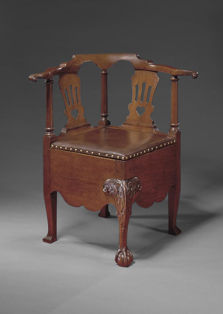 11 Corner Chair Attributed To Robert Walker 1755 1760 King