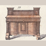 Fig. 26: Detail of sideboard from broadside illustrated in Fig. 22.