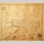 "Fig. 14: ""Plan of the town of New Bern and Dryborough…,"" Jonathan Price (surveyor), Allen Fitch (engraver), c.1817, New Bern, North Carolina. Ink on paper; HOA: 19-3/4"", WOA: 23-1/8"". Tryon Palace, North Carolina Department of Cultural Resources, Division of Archives and History, acc. TP.1987.065.001. Online: http://newbern.cpclib.org/digital/TP1987065001.html (accessed 27 May 2014)."