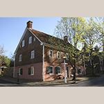 Fig. 8: Boys' School, 1794, Salem, NC (restored 1954).