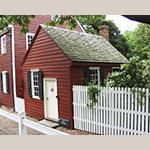 Fig. 10: Schultz Shoemaker Shop, 1827, Salem, NC (restored 1978).
