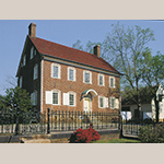 Fig. 12: Vierling House, 1802, Salem, NC (restored 1980 and 2016).