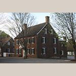 Fig. 13: John Vogler House, 1819, Salem, NC (restored 1954).