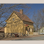 Fig. 18: Miksch House, 1771, Salem, NC (restored 1960).
