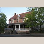 Fig. 21: Salem Tavern, 1784, Salem, NC (restored 1956).