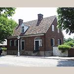 Fig. 22: Christoph Vogler House, 1797, Salem, NC (restored ca. 1955).