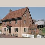 Fig. 24: Winkler Bakery, 1800, Salem, NC (restored 1968).