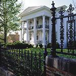 Fig. 29: Edward Belo House, 1849, Salem, NC.