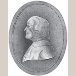 Fig. 31: Portrait of Frederick William Marshall, unknown artist, late 18th century. Pencil on paper. Collection of the Moravian Archives, Southern Province, Winston-Salem, NC.
