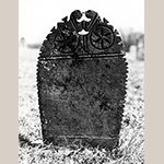 Fig. 17: Reverse of the gravestone in Fig. 16.