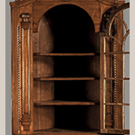 Fig. 22: Detail of the corner cupboard in Fig. 4.