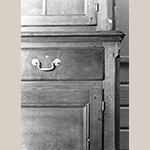 Fig. 27: Detail of the side cupboard in Fig. 26.