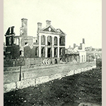 "Fig. 10. ""A Colonial Mansion in Ruins—1865"" attributed to Matthew Brady, 1865. Reproduced from Francis Trevelyan Miller and Robert S. Lanier, eds., The Photographic History of the Civil War in Ten Volumes, Vol. 9: (New York: The Review of Reviews Co., 1911), 319; available online: https://babel.hathitrust.org/cgi/pt?id=mdp.39015042873854&view=1up&seq=323 (accessed 2 October 2020)."