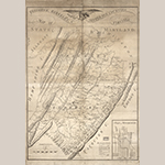 """Fig. 1: """"Map of Frederick, Berkeley, & Jefferson Counties in the State of Virginia,"""" surveyed by Charles Varle, engraved by Benjamin Jones, 1809, Philadelphia, PA. Ink on paper; HOA: 33-1/2"""", WOA: 24-1/3"""". Collection of the Library of Congress, Geography and Map Division, G3883.F8G46 1809 .V3, Washington, DC."""