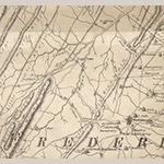 Fig. 6: Back Creek Valley in western Frederick Co., VA detailed from the map illustrated in Fig. 1.