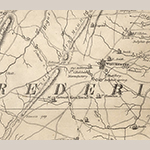 Fig. 91: Round Hill area in western Frederick County, Virginia detailed from the map illustrated in Fig. 1.