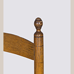 Fig. 102: Detail of a finial on the chair illustrated in Fig. 99.