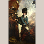 "Fig. 2: ""Colonel Banastre Tarleton"" by Sir Joshua Reynolds (1723–1792), 1782. Oil on canvas; HOA: 92-15/16"", WOA: 57-1/4"". Collection of the National Gallery (London, England), Acc. NG5985, Bequeathed by Mrs. Henrietta Charlotte Tarleton."