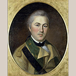 "Fig. 15: ""Henry Lee (1756–1818)"" by Charles Willson Peale (1741–1827), ca. 1782. Oil on canvas; HOA: 23-1/8"", WOA: 19"". Collection of Independence National Historical Park (Philadelphia, PA), Acc. INDE 14076, National Park Service, US Department of the Interior."