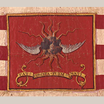 Fig. 22: Detail from the regimental standard illustrated in Fig. 21.