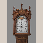 Fig. 9: Detail of clock illustrated in Fig. 8; Photograph by Dan Routh.
