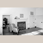 Fig. 8: Room that would have been Margaretta Brown's bedroom in 1835. Historic American Buildings Survey, HABS KY,3 7-FRAFO, Library of Congress Prints and Photographs Division, Washington, DC. Available online: https://www.loc.gov/pictures/related/?&co=hh&pk=ky0081.photos.070585p&st=gallery&sb=call_number#focus (accessed 25 July 2020).