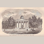 "Fig. 13: Kentucky's Old State Capitol, depicted ca. 1847, published in Lewis Collins, ""History of Kentucky"" (Louisville, KY: Lewis Collins, 1877 edition), Plate 33."