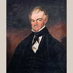 "Fig. 9: Portrait of The Honorable Osmond Woodward (1795–1863) by George W. L. Ladd, 1845–1850. Oil on canvas; HOA: 30-1/4"", WOA: 24-3/4"". Collection of the Columbia Museum of Art, Columbia, SC. Bequest of Alice America Beaufort Walker."