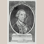 "Fig. 19: ""George Washington"" engraved by James Trenchard (w.1777-1793) after a portrait by Charles Willson Peale; America; c. 1787. Ink on paper; HOA: 6-1/2"", WOA: 3-7/8"". Collection of the Museum of Fine Arts, Boston, Harvey D. Parker Collection, P12742."